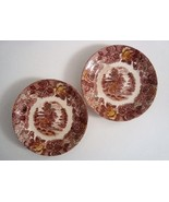 Nasco Mountain Wood-land Saucers, set of two - $5.99