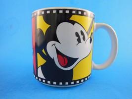 Vintage Mickey Mouse on Film Mug Disney Japan - $8.90
