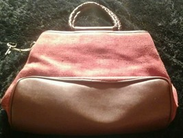 Fossil Rust Colored 75082 Handbag With Key Cute! - $31.19