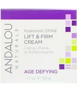 Andalou Naturals Hyaluronic DMAE Lift & Firm Cream 1.7 oz  - $13.59