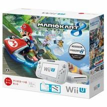 Wii U Mariokart 8 Set White Nintendo 32GB Pack WiiU Console Mario Kart 8... - $629.99