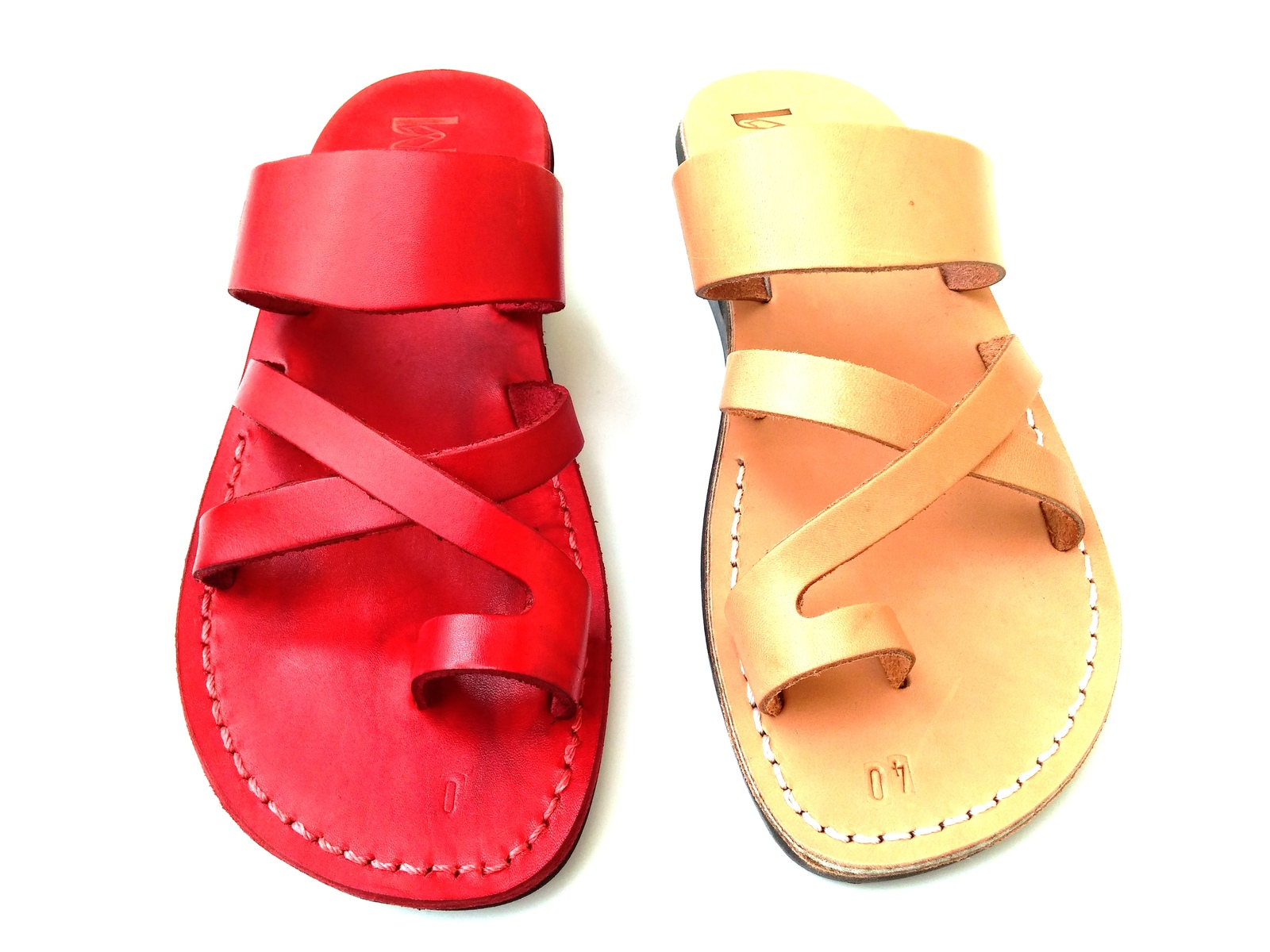 Leather Sandals for Men and Women ROMAN by SANDALIM Biblical Greek Summer Roman