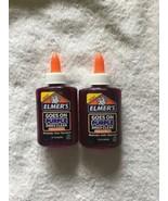 Elmers Disappearing Purple Liquid School Glue 3-Oz Dries Clear lot of 2 new - $2.50