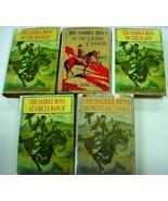 The Saddle Boys 5 Lot Books by Captain James Carson hcdj - $30.00