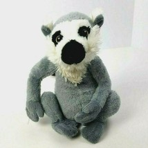 "Ring Tailed Lemur Plush Ganz Webkinz No Code 9"" HM369 Gray Striped #A17 - $10.88"