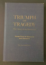 Vtg Triumph And Tragedy The Story Of The Kennedys Harcover Book Glossy P... - $8.90