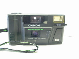 Chinon 35FX-m Motorized-Focus Free 35mm Camera with Built-in Flash - $34.64