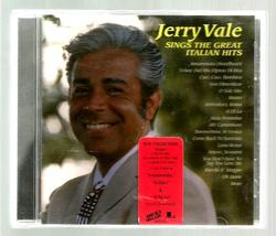 JERRY  VALE  * SINGS THE GREAT ITALIAN HITS *  CD ~ COLUMBIA 1998 - $2.99