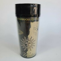 Starbucks Vintage Coffee Mug 16oz Travel Tumbler Earth Air Water Elements  - $14.84