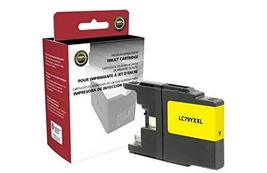 Inksters Non-OEM New Extra High Yield Yellow Ink Cartridge Replacement for Broth - $13.23
