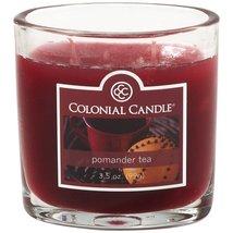 Colonial Candle 3.5 oz. Pomander Tea Jar Candle 2 Wicks Jar Candle 2 Wicks - $8.00