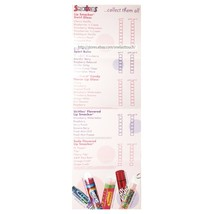SMACKERS* Lip Gloss/Balm COLLECTOR'S LIST Bubble Font HAPPY HOLIDAYS Dec... - $8.99