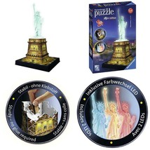 108 PIECES STATUE OF LIBERTY 3D PUZZLE - NIGHT EDITION - $30.42