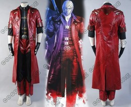 DMC Devil May Cry IV 4 Dante Halloween Cosplay Outfit Costume Coat Suit Full Set - $140.06+