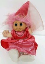 Russ Berrie Troll Kidz Penelope #2835 Princess 259 Pink Dress Hat Doll C... - $29.69