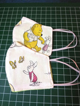 Winne the Pooh Cloth Face Mask Reusable Ear Saver Toddler - 5 years Set ... - $18.31