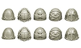 28mm Sci-Fi - Changed Legions: Changed Knight Shoulder Pads (ver. 1) by Spellcro