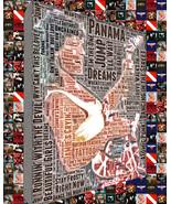 Van Halen Song Title and Album Cover Mosaic Word Art, Featuring Eddie Va... - $49.00+