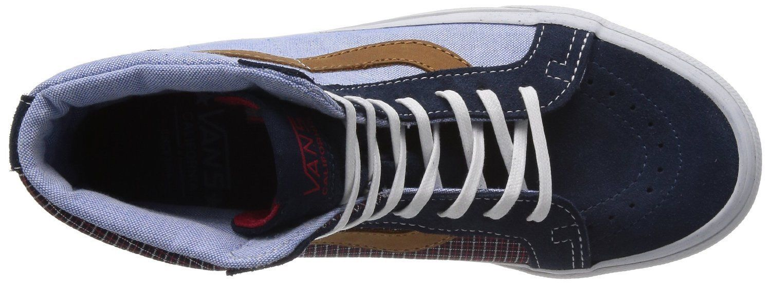 6a0dc115bf93 NEW Vans SK8-HI REISSUE CA (C P) Dress Blues Men s Skate Shoes Size