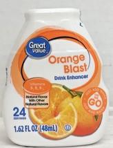 Great Value Orange Blast Liquid Water Drink Enhancer 1.62 oz - $4.88