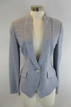ST JOHN COUTURE Silver Pewter Purple Evening Jacket 6 - $197.99
