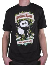 LRG Strictly Roots Weed Joint Smoking Panda Dark Olive Black or White T-Shirt NW image 2