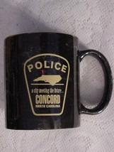 Collectible Police Cup Mug Concord, NC A City Meeting The Future - $19.95