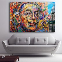 1Pcs Abstract Street Art Salvador Dali Wall Picture Canvas Painting 24x3... - $39.99