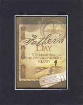 Poems for Father's Day - Fathers Day Celebrating this day with thankful hearts - - $11.14