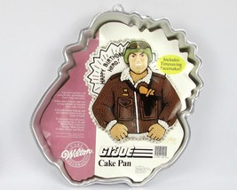 Wilton 1986 GI JOE 2105-2950 Cake Pan w/ Face Time Saving Plate NOS - ₹850.01 INR