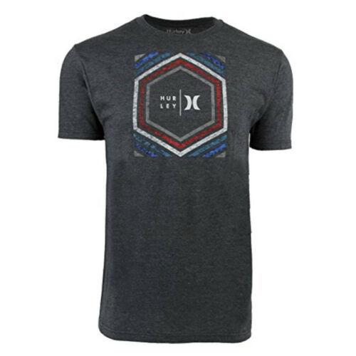 Hurley Men's In Deep Tee Shirt Premium Fit Short Sleeve Licensed T-Shirt NWT