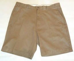 Casuals Roundtree & Yorke Size 44 Waist RELAXED FIT Brown Cotton New Men... - $33.18