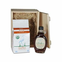 Great River Organic Milling, Gift Box, Buttermilk Pancake Mix and Maple Syrup, 6