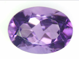 0.85 CT NATURAL AMETHYST LOOSE GEMSTONES PURPLE OVAL FACETED CUT 5.21 X ... - $14.49