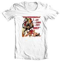 Thunderball t-shirt 007 Sean Connery original James Bond movie graphic tee  image 1