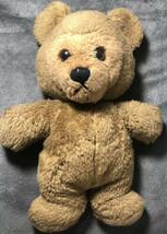 "Very Rare Antiqua Vintage Dakin 1978 Teddy Bear Black Eyes 13"" - $49.49"