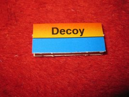 1988 The Hunt for Red October Board Game Piece: Decoy Red Ship Tab- Soviet - $1.00