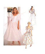 Vtg Butterick Sewing Pattern 4563 Misses Wedding Dress Bridesmaid 18 20 ... - $9.95