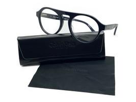 New Calvin Klein Ck 5926 438 Shiny Black Authentic Eyeglasses Rx 53-20 W/CASE - $48.47
