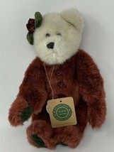 "Boyds Bears Plush Glynis Ivory & Burgundy Fur 11"" Stuffed Animal 1998 - $13.86"