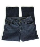 Lee Riders Womens Jeans Size 7/8 Cropped Medium Wash Stretch Denim - $25.15