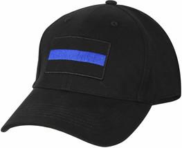 Thin Blue Line Police Baseball Cap Low Profile Law Enforcement Hat - $19.79
