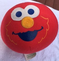 VHTF 2000 Fisher Price ELMO'S Bounce Around Ball Giggles Talks Plush Toy - $22.76