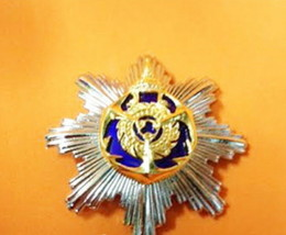 Command and Staff Royal Thai Navy Force Metal Badge Insignia Militaria RNA; - $32.55