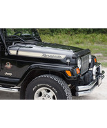 "Jeep Wrangler Renegade Hood Decals Sticker Pair (2) 3"" x 36"" Pick Color ... - $14.96"