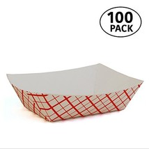 2 lb Paperboard food trays for French Fries, Hot Dogs, Carnival, Arts an... - $13.99
