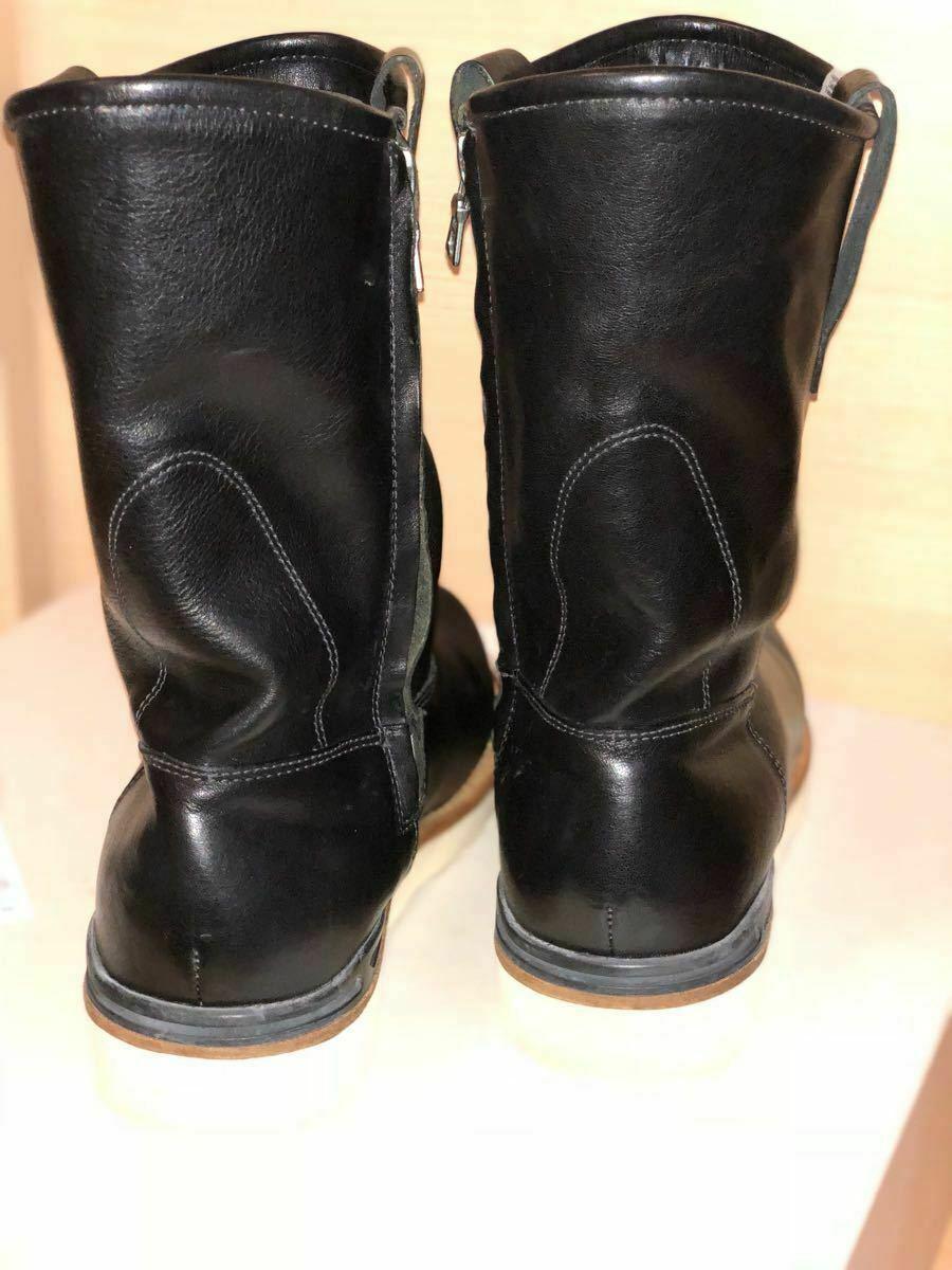 FIL limited 1st model visvim WABANAKI BOOTS-FOLK US8 BLACK Pecos boots image 5