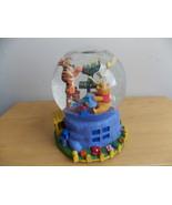 Disney Winnie the Pooh Happy Hanukah Party Musical Animated Snowglobe  - $125.00