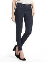 NEW Womens Gap 1969 True Skinny Mid Rise Jeans Rinse 27 Size 4 Regular - $42.99