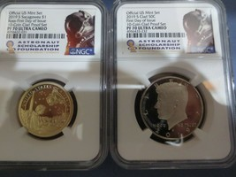 2019 S Sacagawea Dollar & Kennedy NGC PF70 UC First Day Issue ASF LABEL ... - $105.00